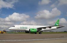 E190-E2、ヴィデロー航空へ初号機納入