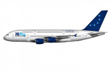 ハイフライ、A380導入へ ポルトガル初、欧州4社目