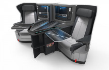 KLMオランダ航空、787-10ビジネスにジャムコ製シート