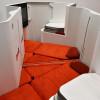 ジャムコ、ダブルベッドになるビジネス新シート インテリアEXPOで初公開