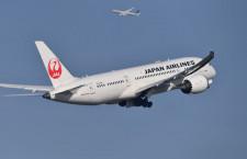 JAL、各利益を上方修正 18年4-12月期営業益は0.2%増