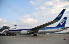 ANAの香港行き、成田で引き返し 機内にモヤ、APUオイル漏れか