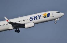 スカイマーク、羽田上空でバードストライク 国交省が航空事故認定