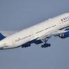 デルタ航空、太平洋線の利用率89.0% 国際線88.8%、米国内87.5% 18年8月