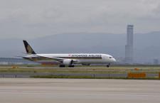 シンガポール航空の787-10、関空就航 世界初の定期便、18%供給増
