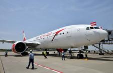 オーストリア航空、成田19年3月再開 週6往復、4月から1日1往復に