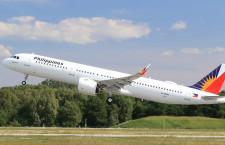 フィリピン航空、A321neo受領 同社向け初号機
