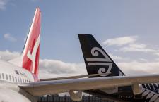 カンタスとニュージーランド航空、国内線でコードシェア 115路線