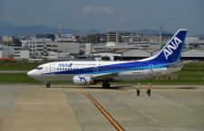 ANAの737-500、6月14日退役へ 福岡発羽田行きが最終便