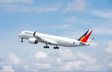 フィリピン航空のA350、初飛行