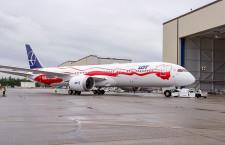 LOTポーランド航空、787-9に独立100周年塗装