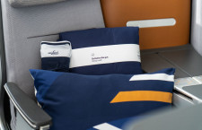 ルフトハンザ、長距離ビジネスクラスに新寝具