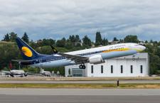 ジェットエアウェイズ、737 MAX受領 インド初導入