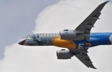 エンブラエル、18年の民間機納入90機 E190-E2は4機