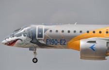エンブラエル、設立50周年 世界3位の民間機メーカーに