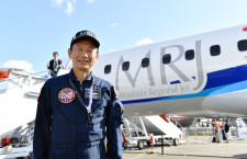 「静かさアピールした」安村機長に聞くMRJ初のファンボロー飛行展示