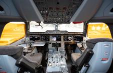 窓あり化粧室も 写真特集・キャセイパシフィック航空A350-1000(操縦室・ギャレー編)