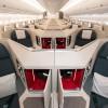 ヘリンボーンの1-2-1配列 写真特集・キャセイパシフィック航空A350-1000(ビジネス編)