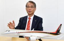 「パリではMRJの内装展示を」三菱航空機・水谷社長インタビュー