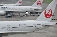 JAL、東京五輪マスコットのデカール機就航