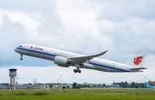 中国国際航空、A350本土初受領