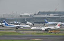 年末年始の国際線旅客、JAL増加 ANAは減