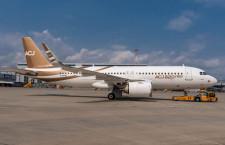 ACJ320neoがロールアウト A320neoのビジネスジェット版