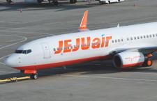 チェジュ航空、関空12日再開 金浦のみ通常運航