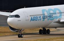 エアバス、受注171機 納入138機 A330neo、匿名顧客が40機 19年12月