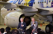 スカイマーク佐山会長、エアバス再導入に含み 「将来的に恩返し」