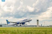 エアバス、米工場でも持続可能燃料 ジェットブルー、A321に