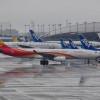 関空、1タミ全面再開 北側初便は香港航空