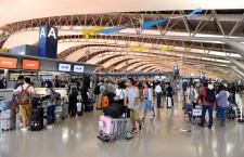 関空、旅客数13%増279万人 訪日客は16%増、19年7月