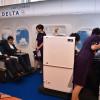 デルタ航空、ドア付き個室ビジネス展示 都内でセミナー