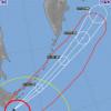 台風24号、1日は230便超欠航 温帯低気圧に