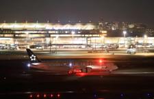 ANAの787、スターアライアンス塗装が羽田到着 中距離国際線仕様