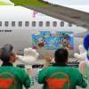 ソラシド、沖縄・宜野座村PRのデカール機「Rio Park Ginoza号」