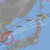 台風25号、6日欠航は80便超 7日未明に温帯低気圧に