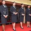 アリタリア、11月から新制服 伊大使館でお披露目