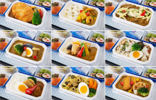 ANA、ご当地カレー選ぶ機内食総選挙 中国四国地方の食材使う