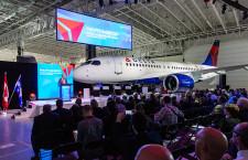 デルタ航空、A220受領 北米初、19年1月就航