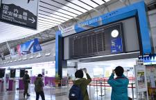 """仙台空港の""""パタパタ""""、21年の歴史に幕 最終便後、真っ黒に"""