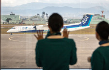 ORC、小松就航 福岡から、ANAのQ400で