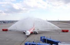 タイ・エアアジアX、中部就航 エコノミー1列8席のA330投入