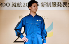 左利き整備士用にポケット追加 写真特集・エア・ドゥ新制服(パイロット・整備士編)