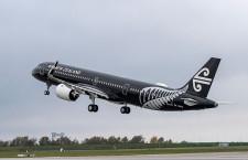 ニュージーランド航空、A321neo受領 初号機は特別塗装