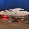 JEX塗装の737が運航終了 JAL統合後も飛び続ける