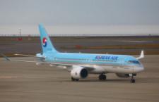 大韓航空、札幌-釜山運休へ 9月から