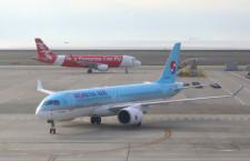 大韓航空、中部にA220就航 初の国際線投入
