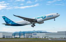 A330-800、初飛行成功 19年に型式証明取得へ